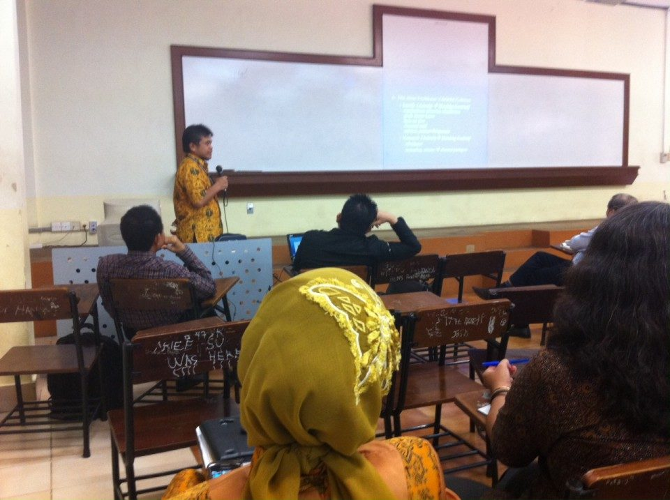 Jurusan Marcomm Gelar Workshop Bimbingan Skripsi