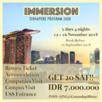 2018 Immersion Program to Singapore
