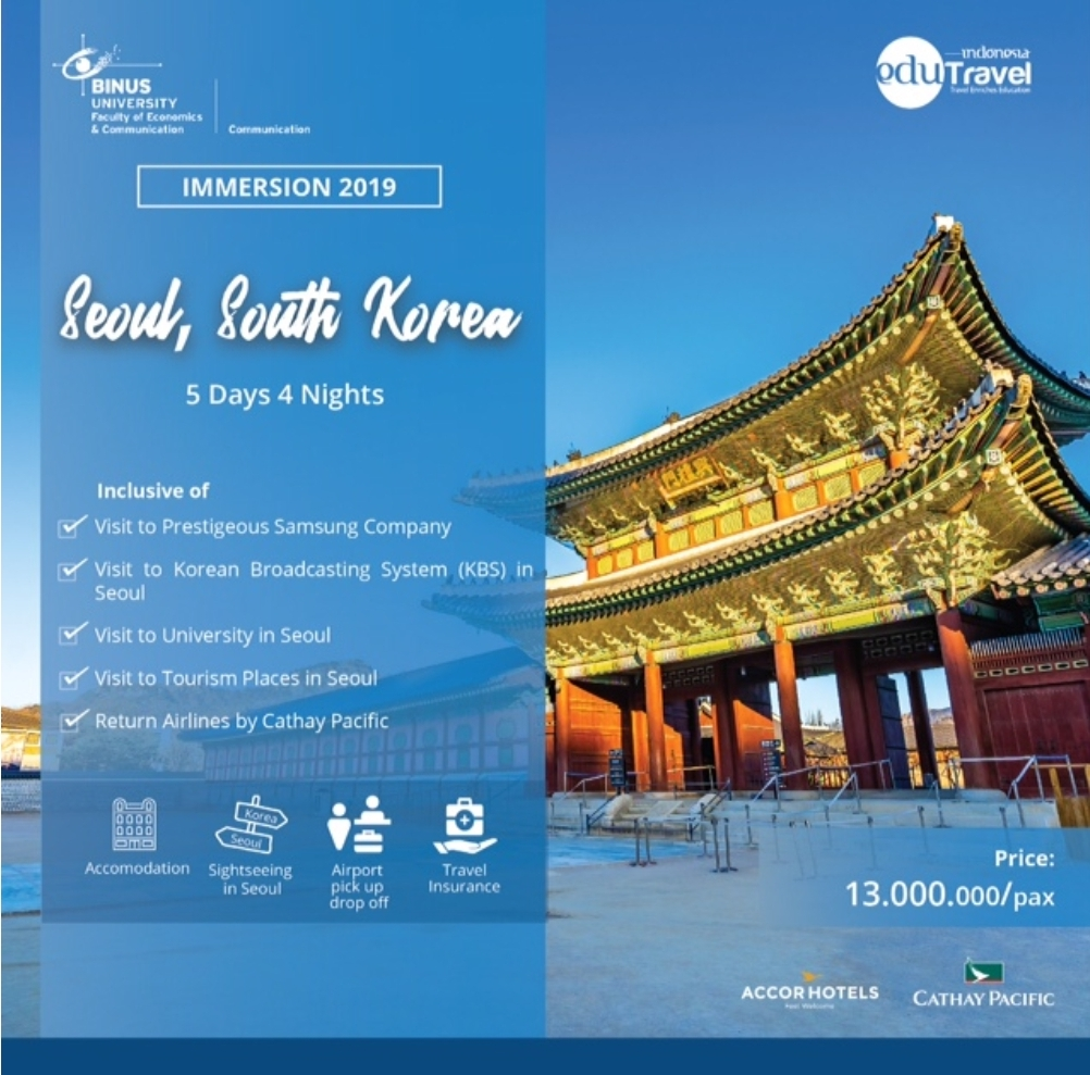 Forget Me Not South Korea Immersion Program
